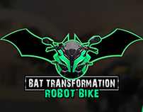 Bat transformation robot bike