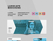 Lanscape Brochure Template