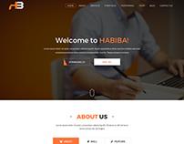 Habiba Portfolio Template