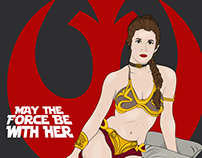 May The Force Be With Her