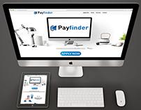 Payfinder.com Responsive minisite design