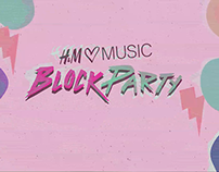 H&M Block Party trailer