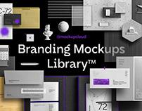 Branding Mockups Library