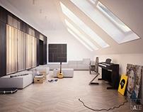 Musician's attic Concept