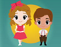 Around the World Children Book Illustrations