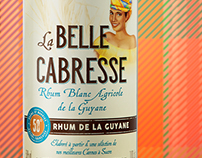 La belle Cabresse - Rhum de la Guyane