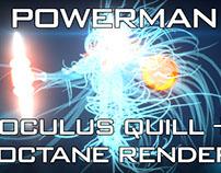 Making ULTRA POWERMAN - Oculus Quill + rift to Cinema4D