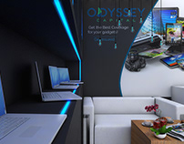 ODYSSEY exhibition stands