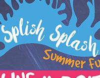 Splish Splash Summer Promotional Materials 2017