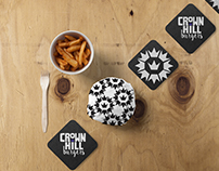 Crown Hill Burgers Branding
