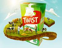 Twist Organic Milk