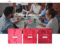 Sydney - SEO, Digital Marketing, Social Media Template