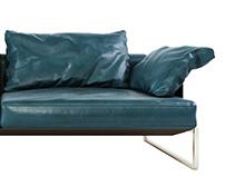 Desiree Arlon sofa 3d model