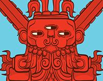 Ah Puch | Mayan God of War