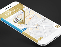 Daily UI Challenge : Location tracker