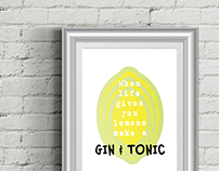 G&T print | personal project