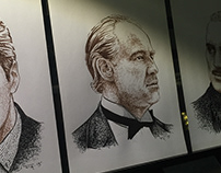 The Godfather portraits