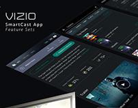 Vizio SmartCast Feature Set Explorations
