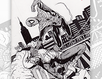 Sketch Cover: Spider-Man