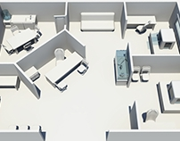 Office/shop 3d Floor Plan (commissioned)