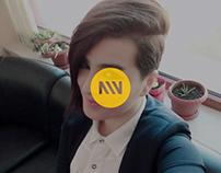 Qəmər Sultan:  Doğum Günü Hikayesi app design