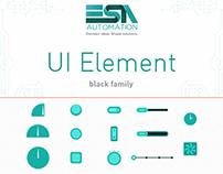 UI Element #black - ESA