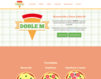 Web HTML5 - Doble M Pizza