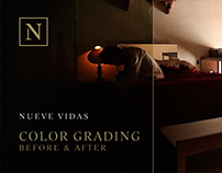 Nueve Vidas - Color Grading, Interactive Short Film