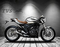 TVS APACHE NEXT 180 CR CAFE' RACER CONCEPT