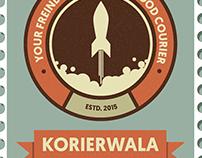 korierwala logo stamp