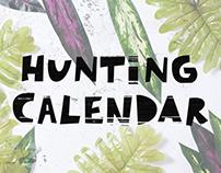 Hunting Calendar