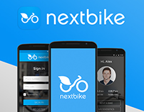 Redesign concept of Nextbike mobile app