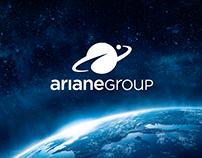 ArianeGroup & Arianespace branding