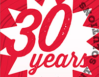 IPS 30th Anniversary Poster and Newsletter