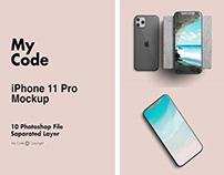 FREE IPHONE 11 PRO MOCKUPS