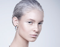 Artyom's jewelry AD campaign beauty retouch