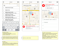 Pet+Pixie Mobile App Redesign Wireframes