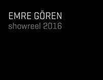 Emre Goren Showreel 2016