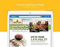 Sweet Earth Foods. UI Web Design