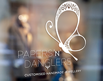 Logo Design | Papers 'n' Danglers