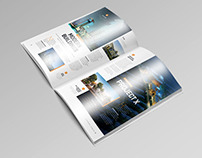 Free A4 Brochure Magazine Mock-Up