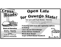 Crossroads newspaper ad