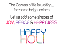 HAPPY HOLI - 2016