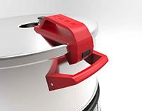 COBB Venturi pressure cooker.