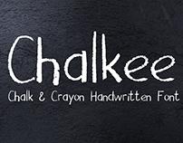 Chalkee Chalk & Crayon Handwritten Font
