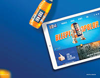IRNBRU website redesign concepts