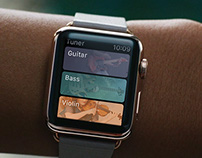Tuner concept for Apple Watch