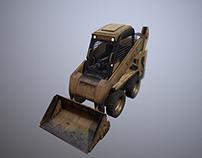 skid loader - game model