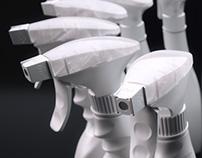 Spray bottle - CGI product shot