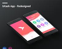 bKash App Redesign Concept